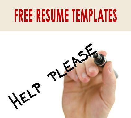 Resume free builder templates